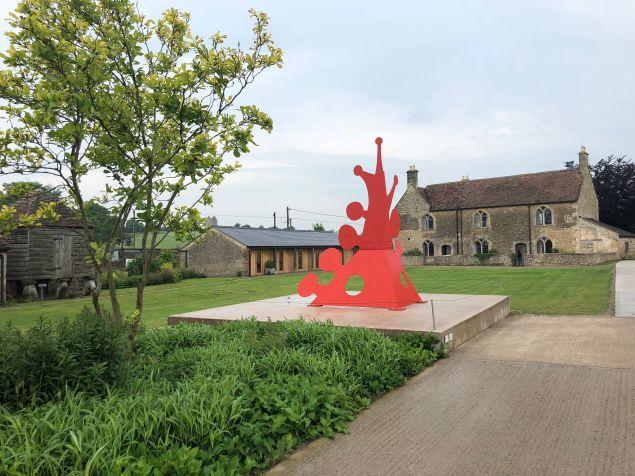 A work by Alexander Calder at Hauser Wirth, Sommerset.