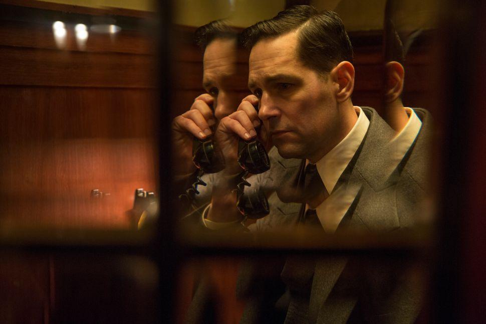 Paul Rudd stars as Moe Berg in 'The Catcher Was a Spy'