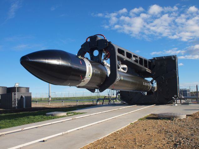 Rocket Lab's Electron 'Its a Test' at Launch Complex 1.