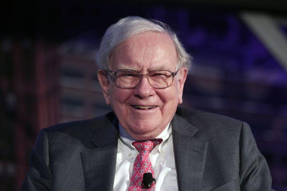 Warren Buffett earned only twice what a median employee at Berkshire Hathaway made.