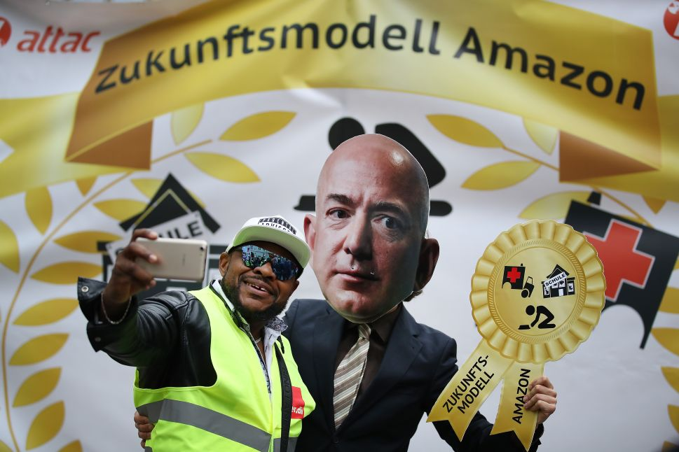 Amazon's worker satisfaction rate is better than outsiders think.