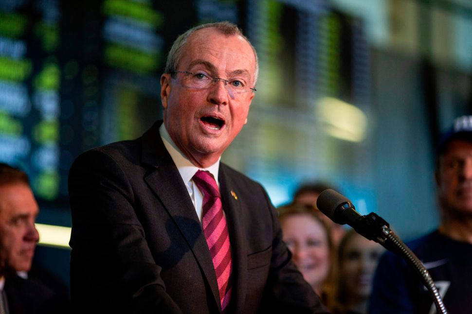 Phil Murphy Handles New Jersey's State Budget Battle