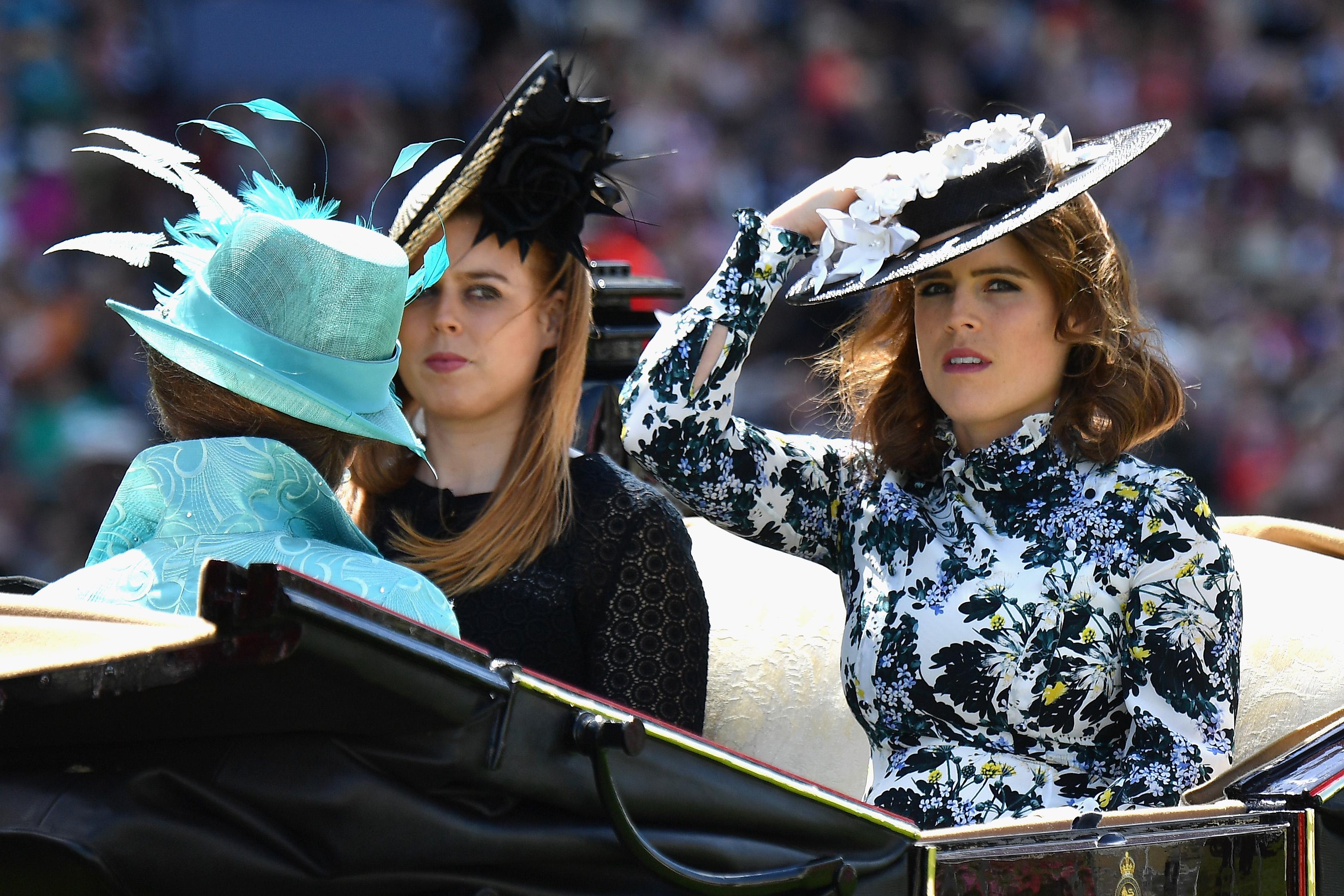 princess eugenie hat