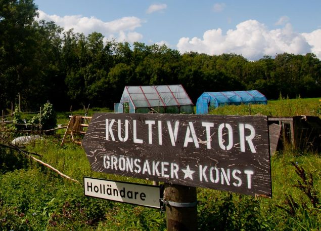 Kultivator's Grounds in Sweden.