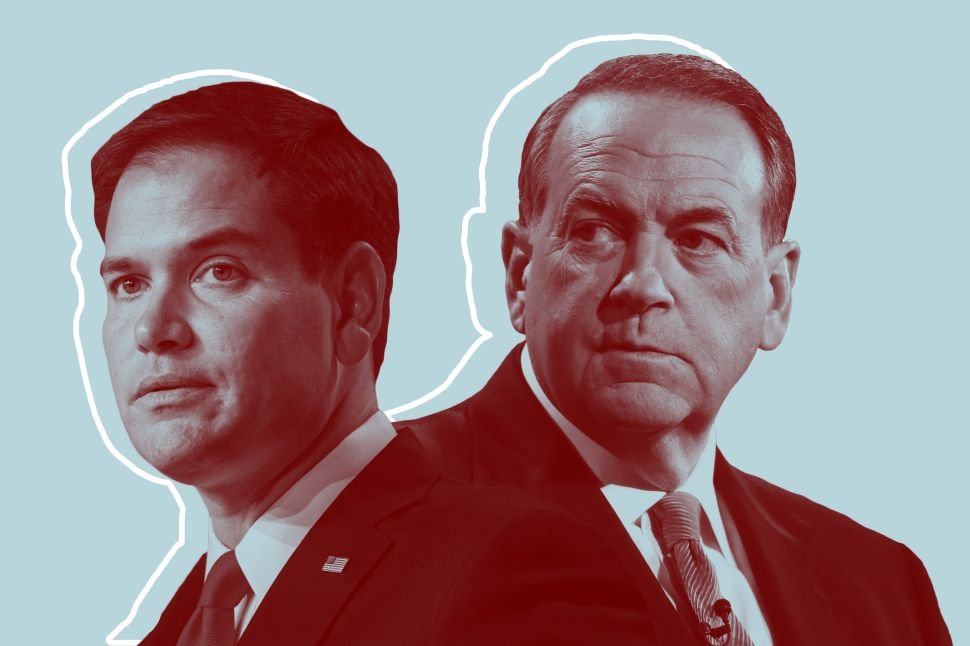 Marco Rubio and Mike Huckabee need better social media managers.
