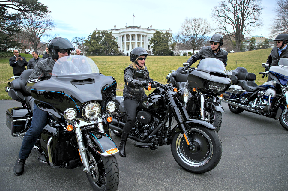 If not moving to Europe, Harley Davidson's annual cost will rise by $100 million.