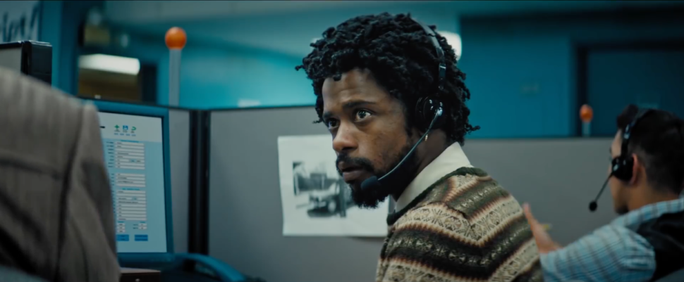 Sorry to Bother You Review Telemarketing Scene