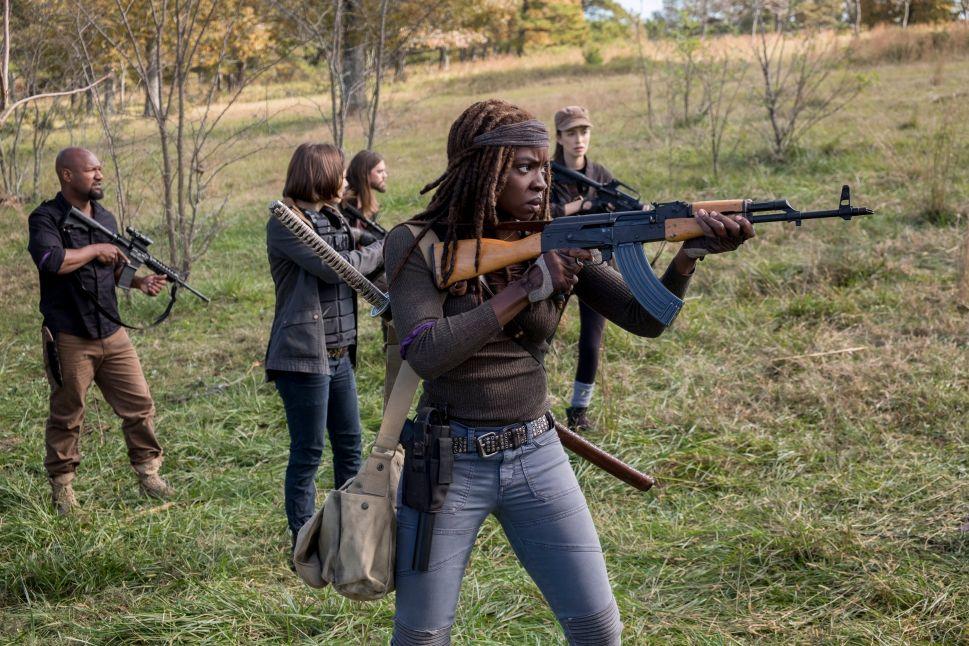 The Walking Dead Season 9 Andrew Lincoln