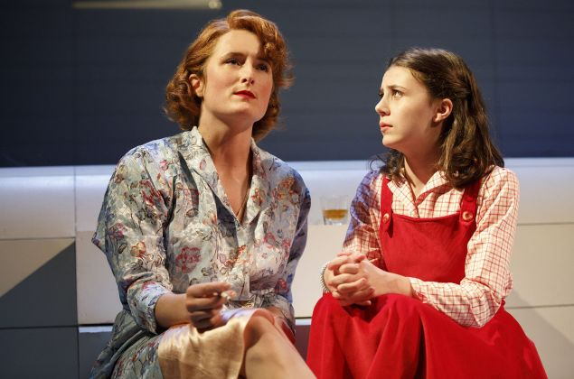 Grace Gummer and Mia Sinclair Jenness in Mary Page Marlowe.