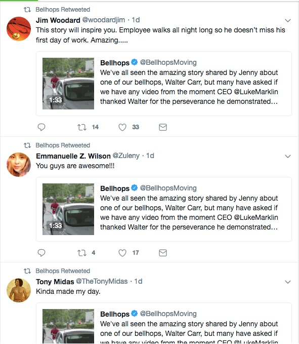 Bellhops Viral Car Gift and Capitalism Tweets