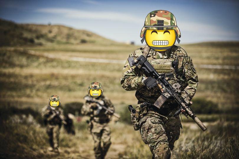 Emoji warriors.