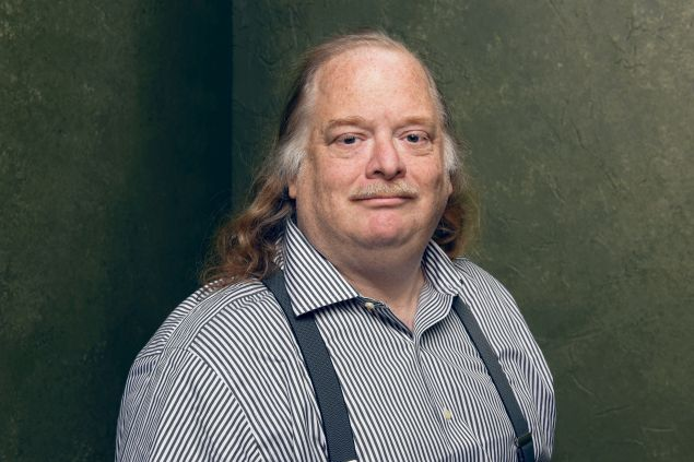 Los Angeles Times food critic Jonathan Gold.