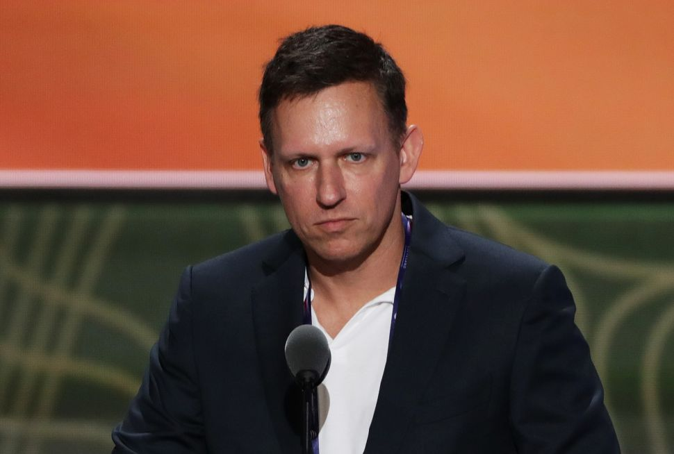 Peter Thiel Bankrolled the Destruction of Gawker, which now has it's remaining assets up for auction.