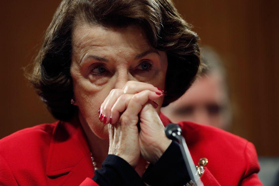Sen. Dianne Feinstein - the shifting left