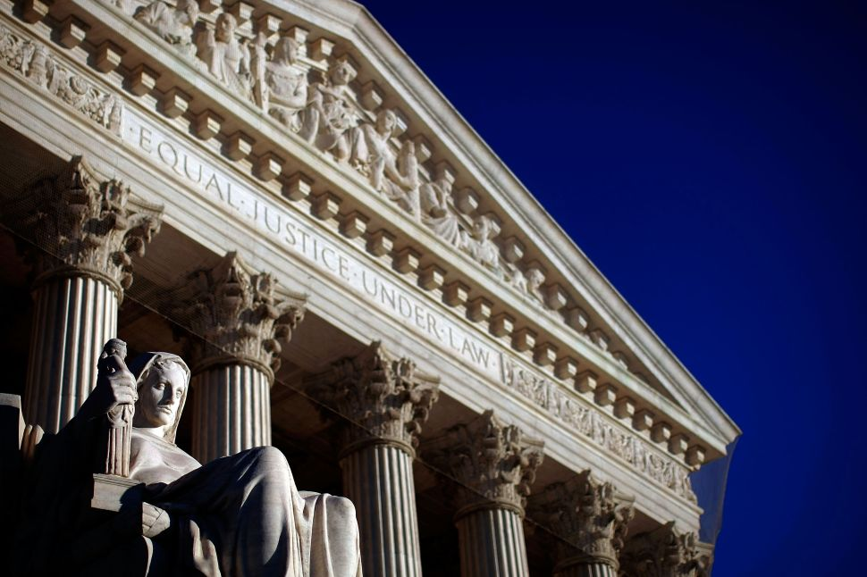 The U.S. Supreme Court is shown February 5, 2009 in Washington, DC.