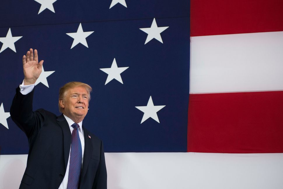 President Donald Trump finally gave the order to fly the American flag at half-staff for the slain Capital Gazette journalists.