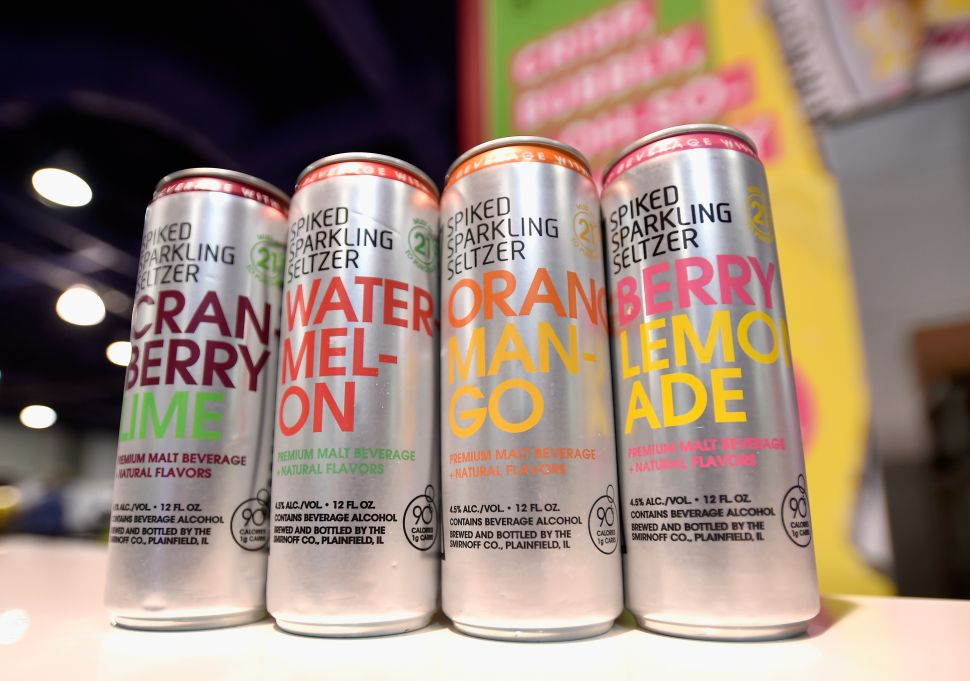 Smirnoff Spiked Sparkling Seltzer is one of the most popular brands in this drink category.
