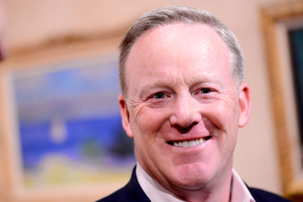 Sean Spicer 'The Briefing' Book Sales