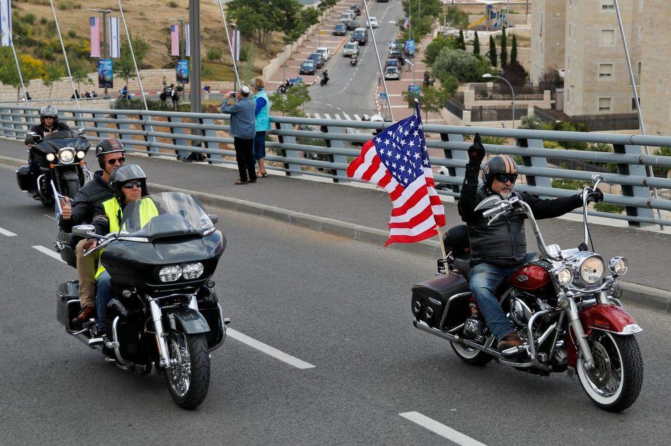 Harley Davidson overseas sales up