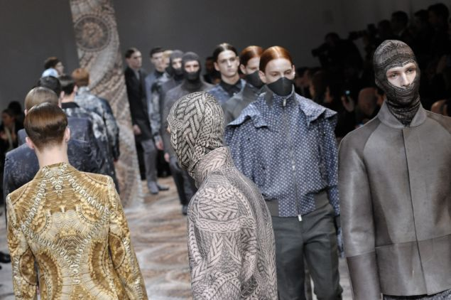 Alexander McQueen Fall/Winter 2010-2011 Menswear collection.