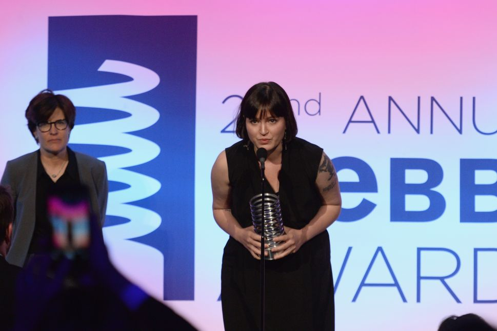 Uber whistleblower Susan Fowler received a Webby Award from her new coworker Kara Swisher earlier this year.