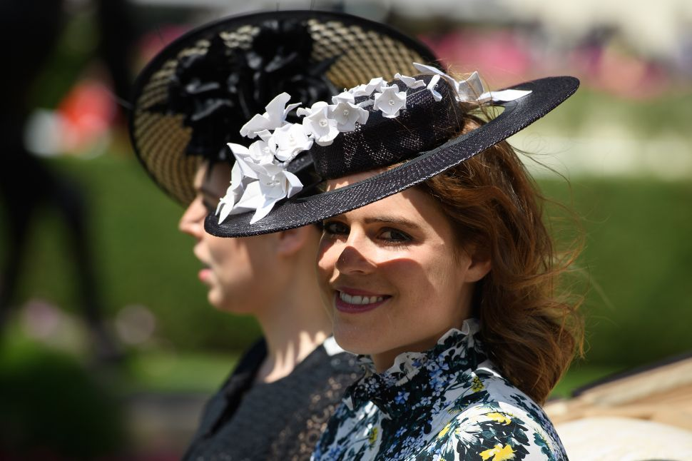 Princess Eugenie is getting a true fairy tale day.