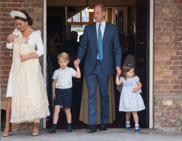 Princess Charlotte is not here for the photographers.