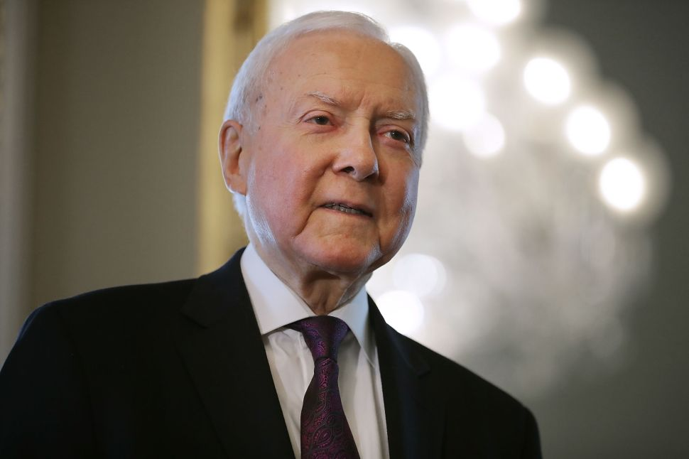 Orrin Hatch is not dead, despite what Google would have you believe.