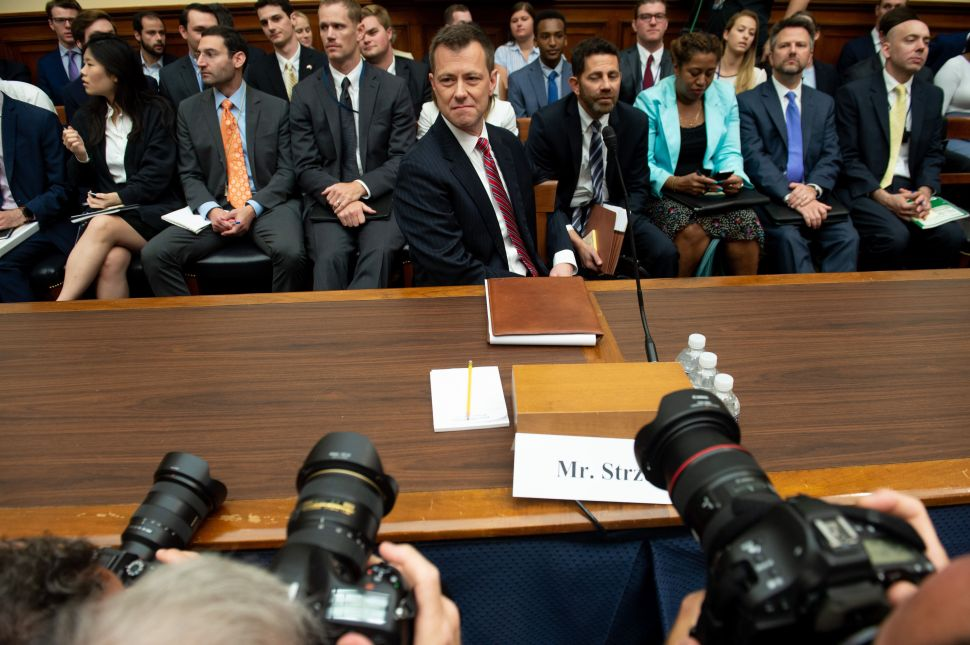 Deputy Assistant FBI Director Peter Strzok.