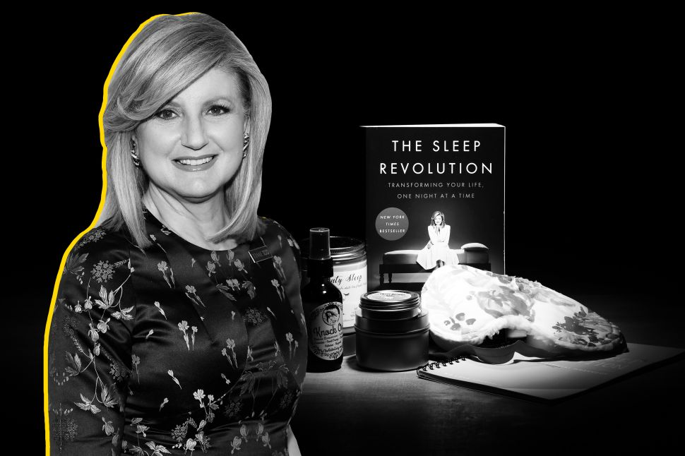"After collapsing from exhaustion in 2007, Arianna Huffington became a self-described ""sleep evangelist."""