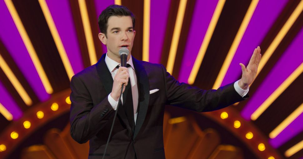 John Mulaney performs 'Kid Gorgeous' at Radio City, one of several comedy specials featured in a viral Twitter thread.
