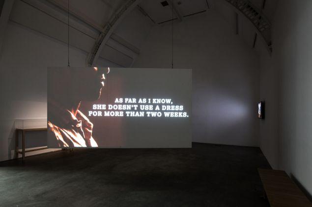 "Osman Yousefzadas exhibition ""Being Somewhere Else"" at Ikon Gallery, Birmingham."
