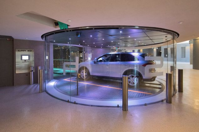 Your very own private car elevator.
