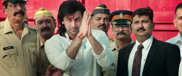 Ranbir Kapoor in Sanju.