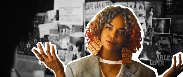 Tessa Thompson as Detroit in Sorry to Bother You.