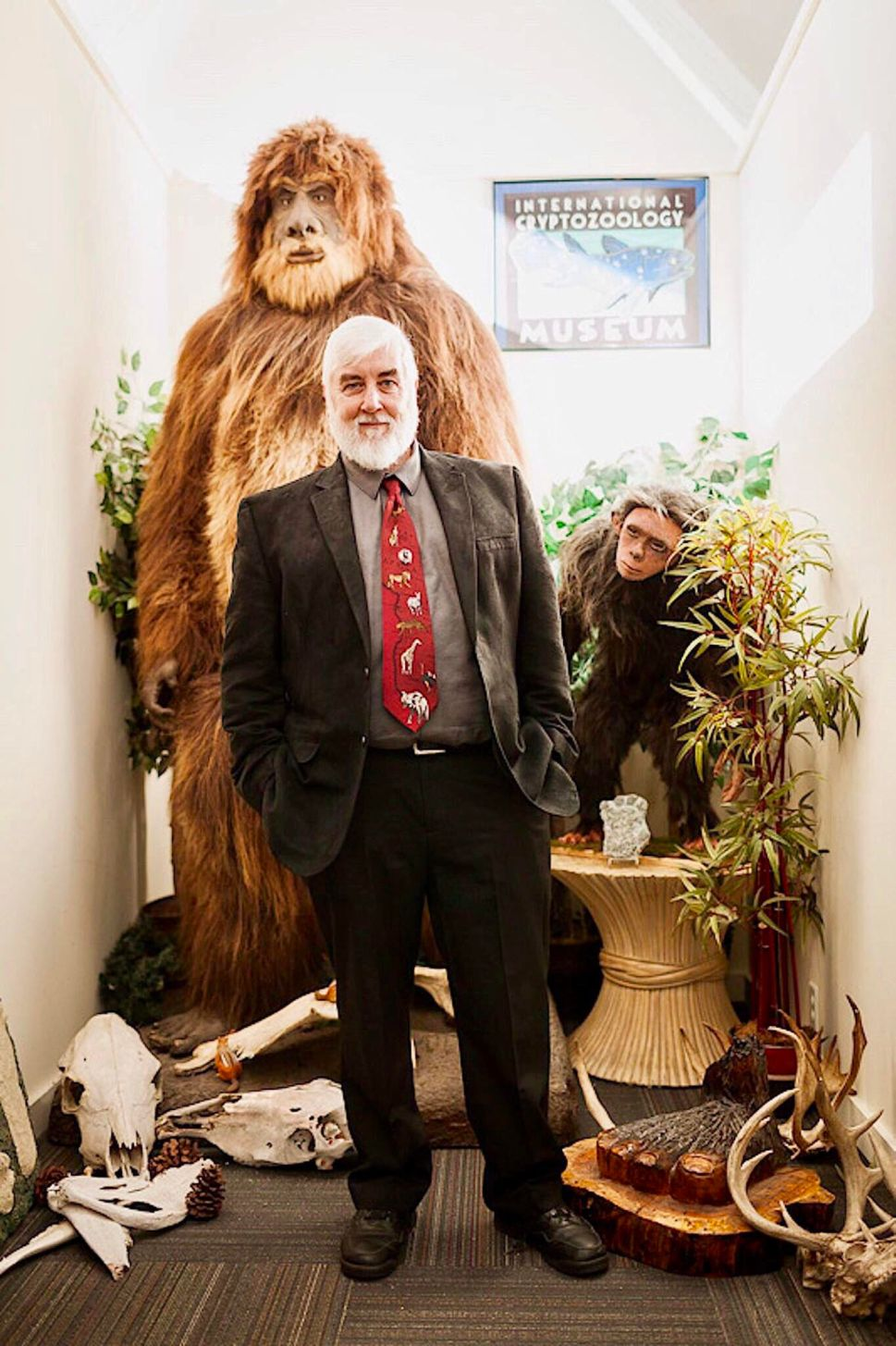 Coleman is also the Director of the International Cryptozoology Museum in Portland, Maine.