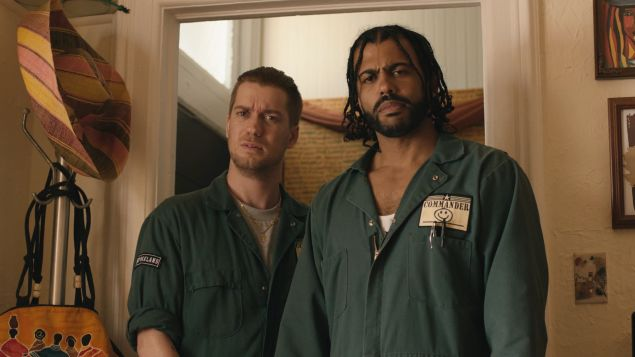 Rafael Casal and Daveed Diggs in Blindspotting.