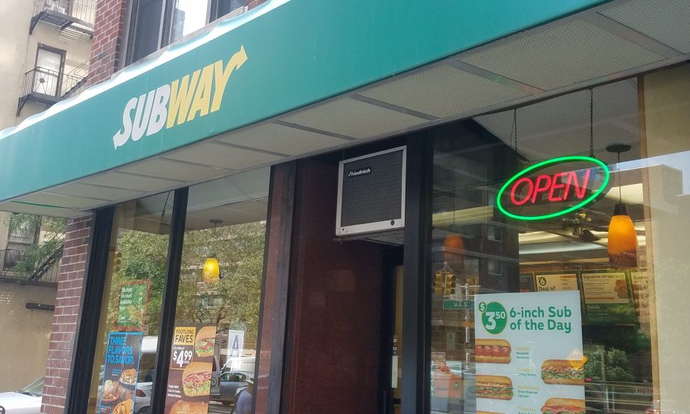 Subway Bread Smell Conspiracy