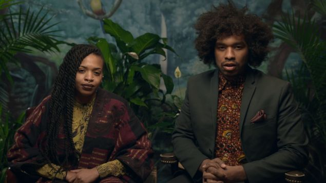 Doreen Garner and Terence Nance in Random Acts of Flyness.
