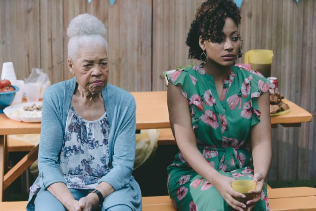 Dorothi Fox and Natalie Paul in Random Acts of Flyness.
