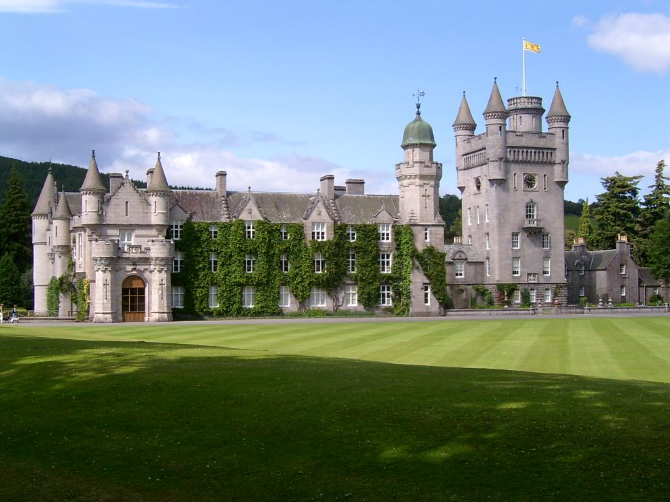 Balmoral Castle is privately owned by the Queen, because of course it is.