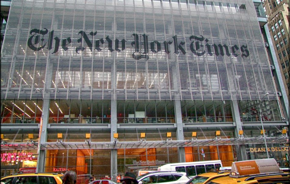 The New York Times is in hot water again.