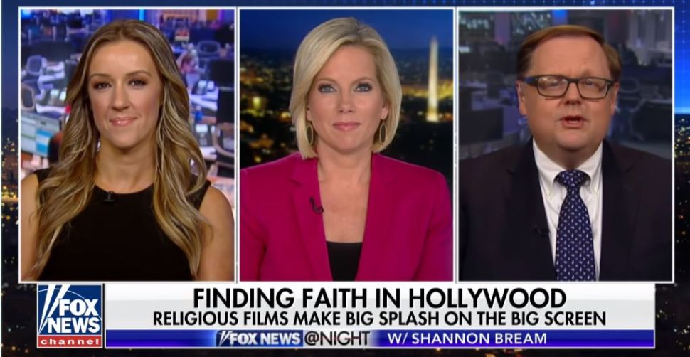 Fox News hosts ignored the Paul Manafort and Michael Cohen rulings in favor of hard-hitting debates about religion at the box office.