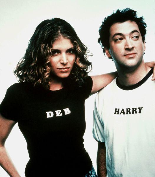 Deborah Kaplan and Harry Elfont photographed in 2001.
