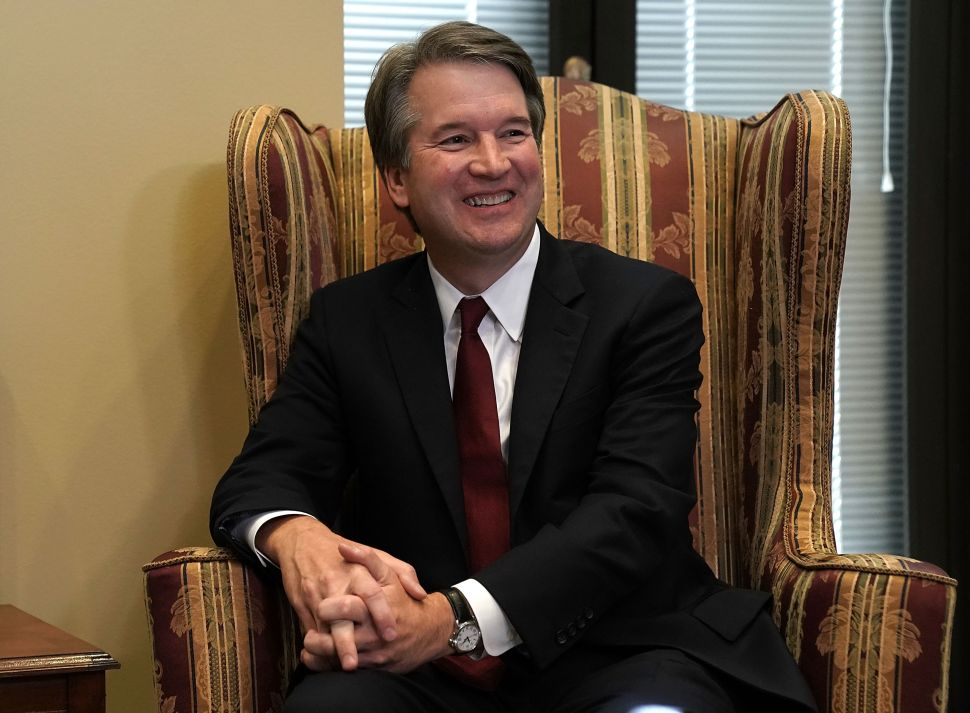 Supreme Court nominee Judge Brett Kavanaugh.