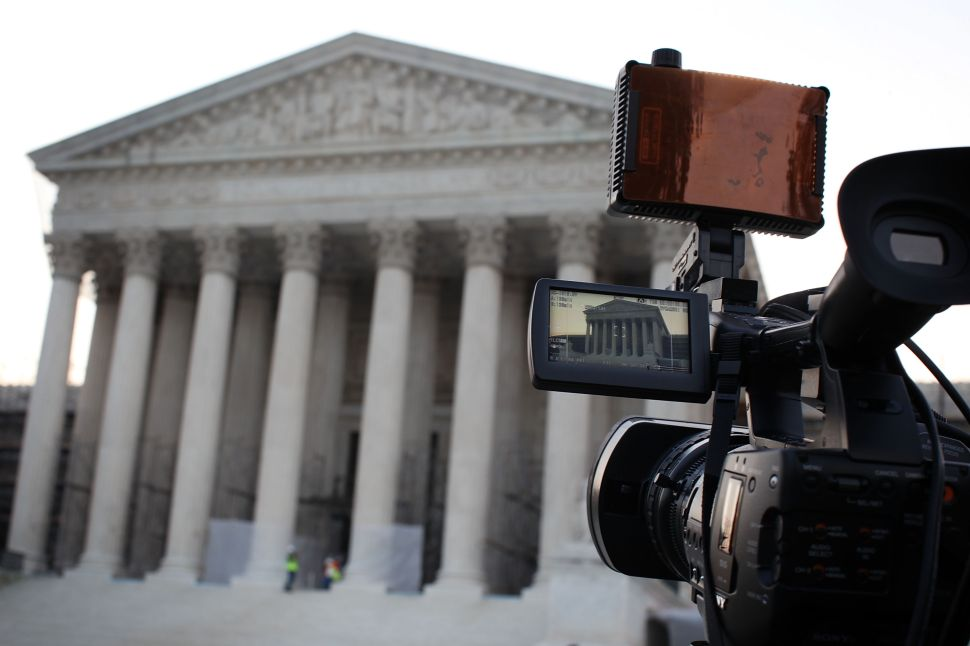 Will the Supreme Court ever provide video of oral arguments? It doesn't seem likely.