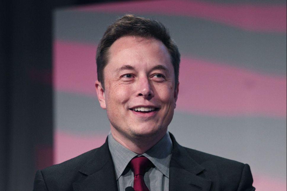 Elon Musk doesn't joke.