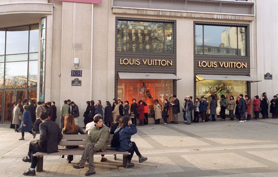 A Louis Vuitton bag in Turkey is now 25 percent cheaper than in the U.S.