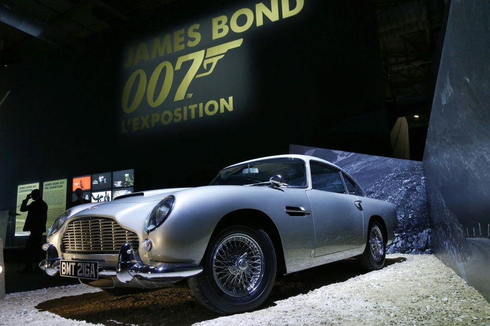 James Bond's favorite car Aston Martin is going public.