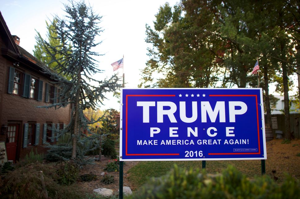Trump may have won the election, but it wasn't because of yard signs.